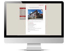 Screendesign, Umsetzung, Website, Internetpräsenz